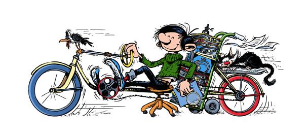 Google : Doodle Gaston Lagaffe