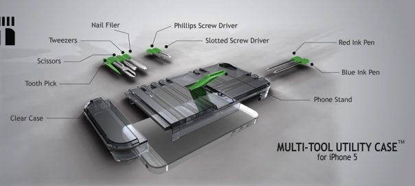 La coque du smartphone de MacGyver dévoilée