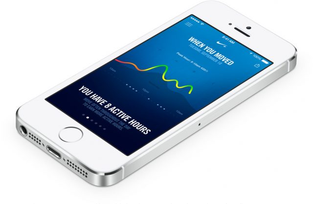 iPhone FuelBand