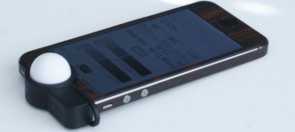 Luxi : Le posemètre pour iPhone