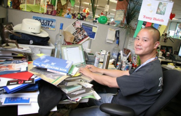 Bureau de Tony Hsieh, Zappos