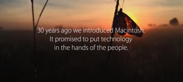 30 ans d'Apple : Une vidéo filmée uniquement avec des iPhones