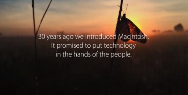 Vidéo 30 ans Apple
