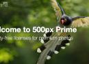 500px Prime : La plateforme de vente de photos est lancée