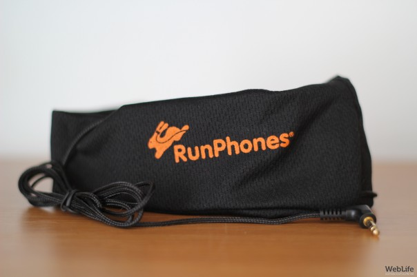 AcousticSheep RunPhones : Bandeau écouteurs