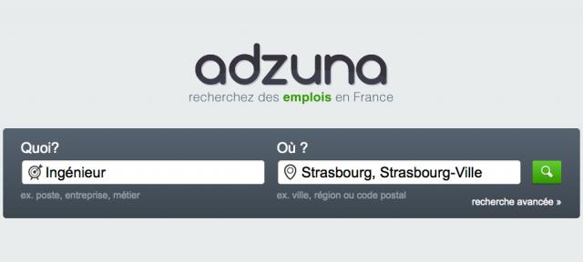 Adzuna : Moteur de recherche d'emplois