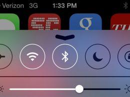 Bluetooth sous iOS7