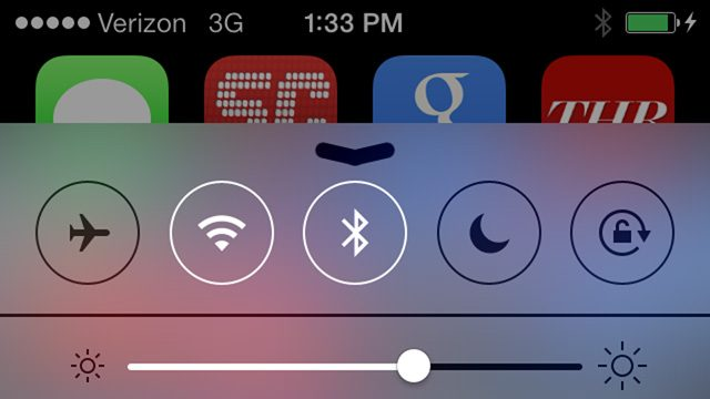 Bluetooth sous iOS7