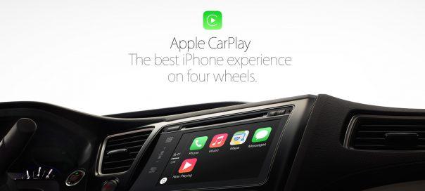CarPlay : iOS dans le tableau de bord des voitures