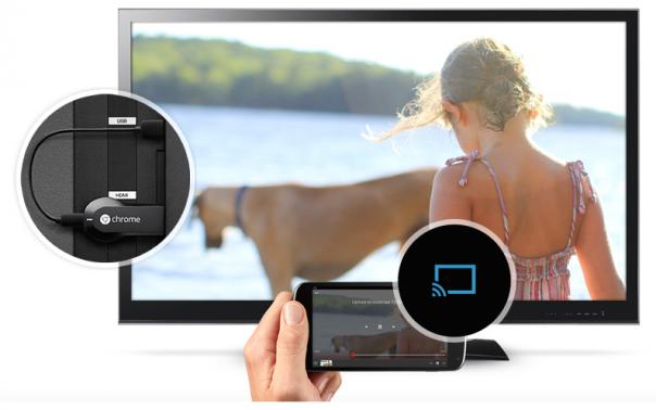 Chromecast : Télévision & smartphone
