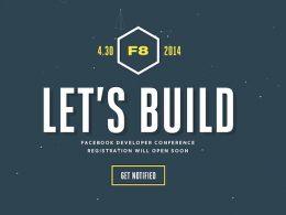F8 Facebook 2014