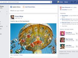 Facebook : Nouveau flux d'actualité