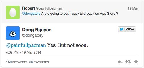 Flappy est de retour