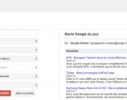 Google Alertes : Veille ciblée sur les nouveaux contenus web