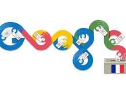 Google : Doodle 1er tour des élections municipales