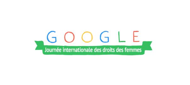 Google : Journée internationale des droits des femmes 2014