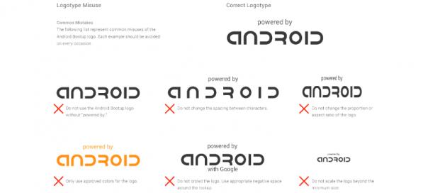 Android : Google impose un branding au démarrage
