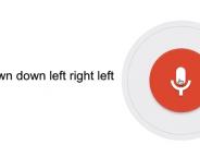 Google Voice Search : Easter egg avec le code Konami