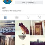 Instagram Android - Profil utilisateur