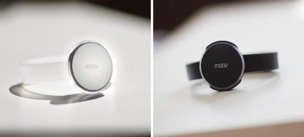Moov : Choix des couleurs du bracelet intelligent