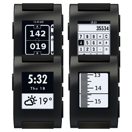 Pebble : Applications