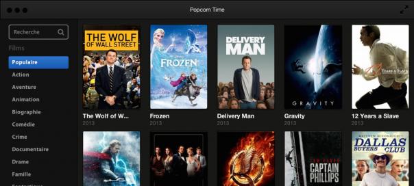 Popcorn Time : Le streaming de films torrent de retour