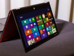 test Lenovo yoga 2