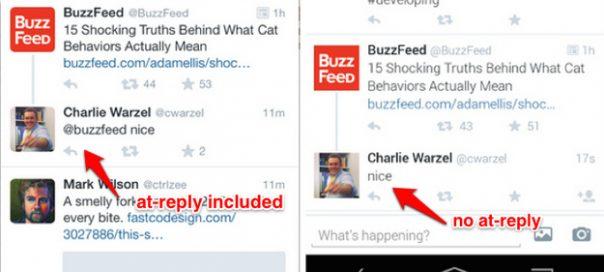 Twitter : Les mentions de réponse pourraient disparaître