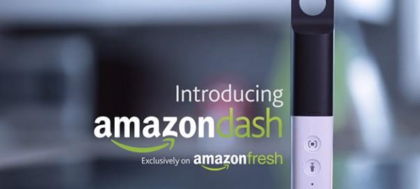Amazon Dash : Scannez vos produits chez vous pour votre liste de courses