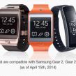 Samsung Gear : Quels appareils compatibles ?