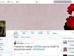 design nouveau profil twitter