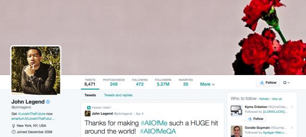 Twitter : Déploiement du nouveau design pour les profils