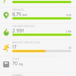 Fitbit Flex : Application mobile