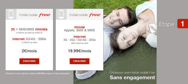 Free Mobile : Abonnement