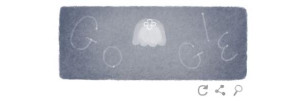 Google : Doodle Jour de la Terre 2014 - Méduse bleue