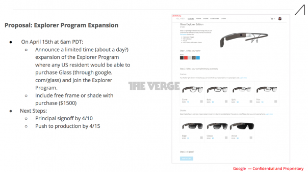 Google Glass : Programme Explorer - Vente US