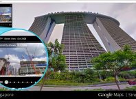 google street view remonter le temps