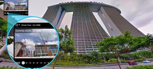 Google Street View : Remontez désormais le temps