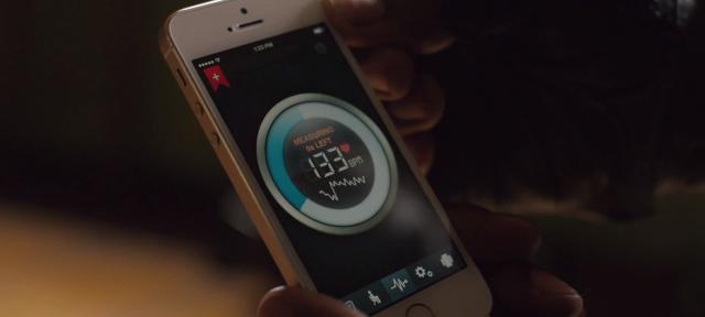 iPhone : Rythme cardiaque