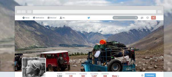 Twitter : Le nouveau profil déployé pour tous