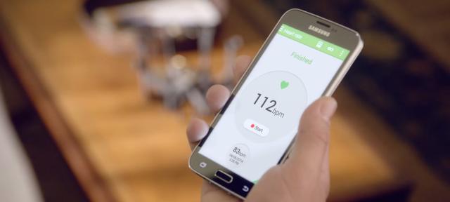 Samsung Galaxy S5 : Cardiofréquencemètre
