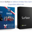 Microsoft : La Xbox One et la Surface en édition limitée PSG
