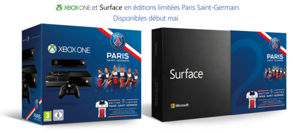 xbox one surface psg