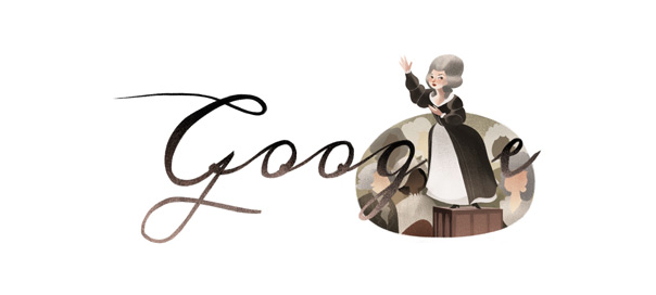 Google : Olympe de Gouges, la féministe & humaniste en doodle