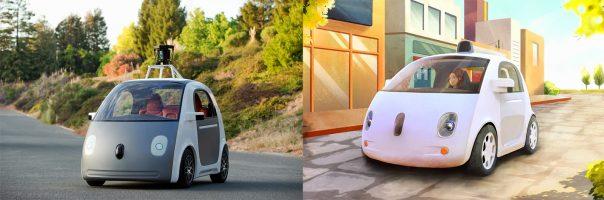 Google : Véhicule autonome - Réalite & design