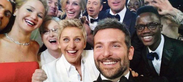 Groufie - Oscar 2014