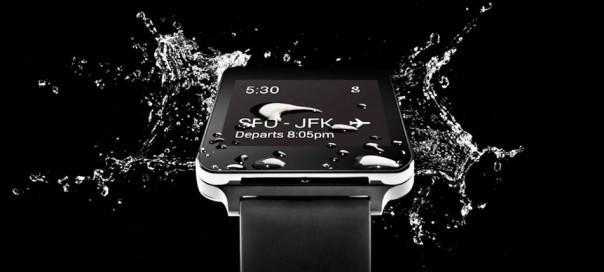 La montre connectée LG G Watch dévoilée