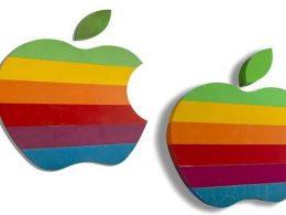 Logo Apple aux enchères