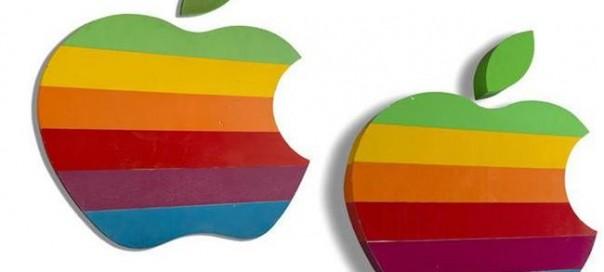 Apple : Deux enseignes du siège vendues aux enchères