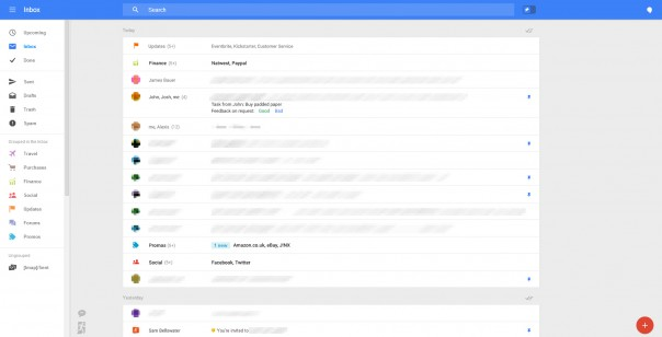 Gmail : Nouvelle interface